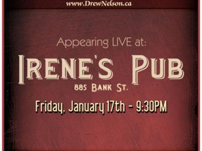 Irene's Pub - 17/01/2013